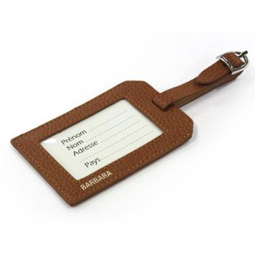 funda para etiqueta de viaje personalizada nombre