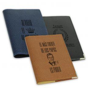 Funda de pasaporte personalizada Día del Padre