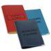 Funda de pasaporte grabada sello