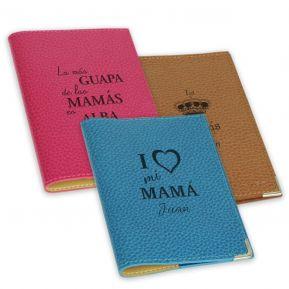 Funda de pasaporte personalizada Día de la Madre
