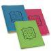 Funda de pasaporte personalizada marco floral