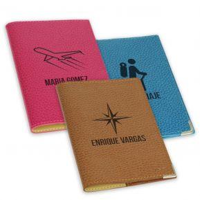 Funda de pasaporte personalizada para Viajero
