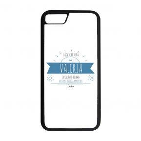 Funda personalizada para smartphone con mensaje soleado