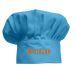 Gorro infantil de cocinero Turquesa