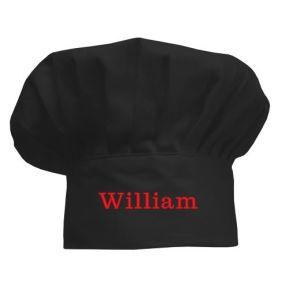 Gorro de cocinero Negro para niños