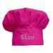 Gorro de cocinero Rosa infantil