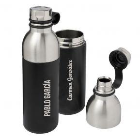 Botella aislante en acero personalizada