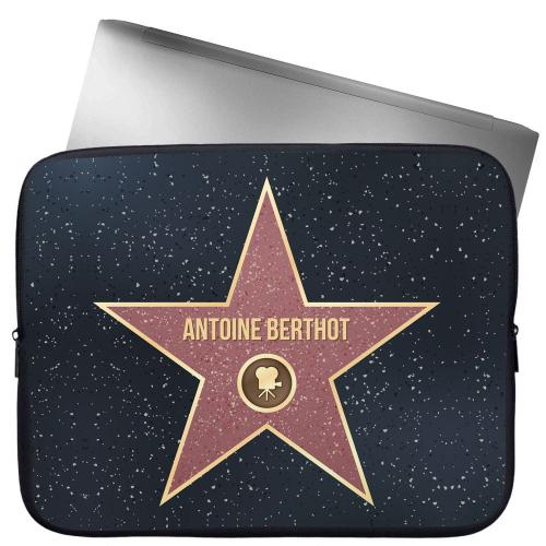 Funda acolchada personalizada Walk of Fame para computador o tablet