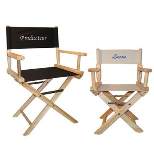 Telas adicionales para sillas de director de cine