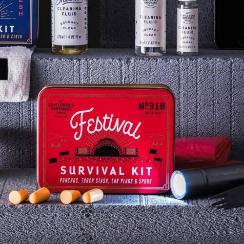 Kit de supervivencia para festivales Gentlemen's Hardware