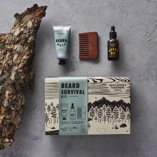Kit de supervivencia del barbudo Gentlemen's Hardware