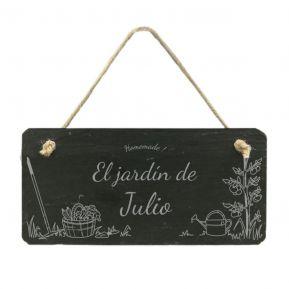 Letrero de jardín personalizado