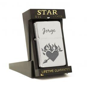 Encendedor Star del amor personalizado