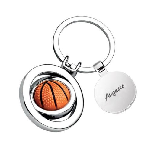 Llavero balón baloncesto personalizado