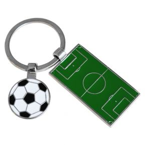 Llavero campo de fútbol personalizado