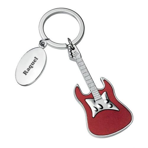 Llavero guitarra personalizado