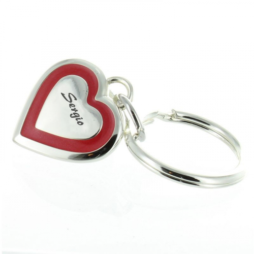 Llavero San Valentín con grabado
