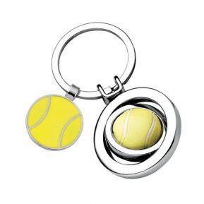 Llavero balón de tenis personalizado
