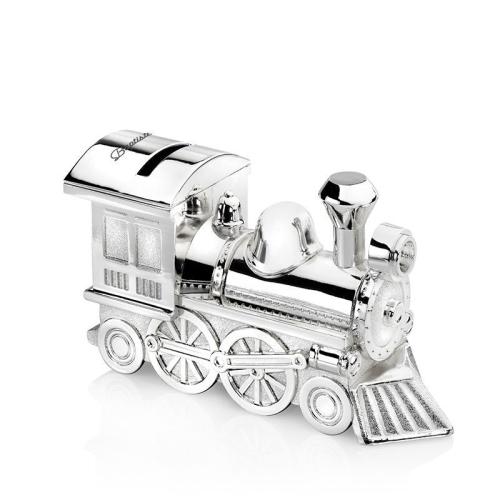 Alcancía locomotora personalizada
