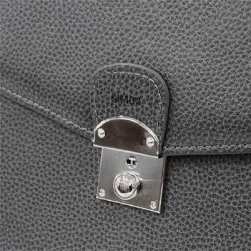 maletín en cuero con 1 compartimiento personalizacion