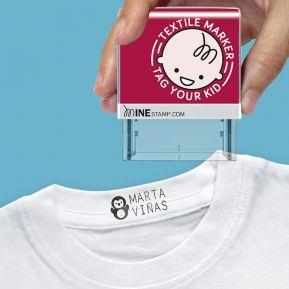 Sello personalizado para ropa y objetos