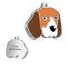 Medalla para Beagle grabada