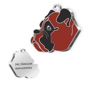 Medalla para perro grabada