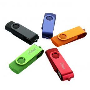 Memoria USB de color personalizada