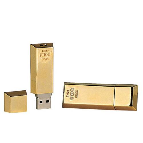 Memoria USB oro personalizada