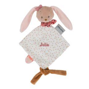 Mini peluche personalizado de Paulina, la coneja