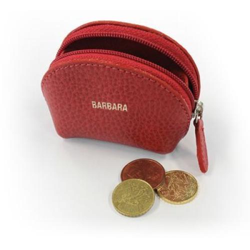 Mini monedero en cuero personalizado