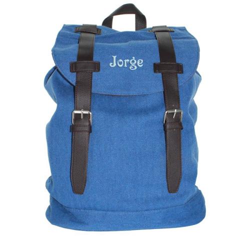 Mochila personalizada tendance azul
