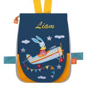 Mochila personalizada para niños Conejo volador
