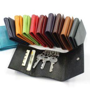 Tarjetero y porta-llaves personalizado