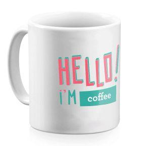 Taza personalizada Hello