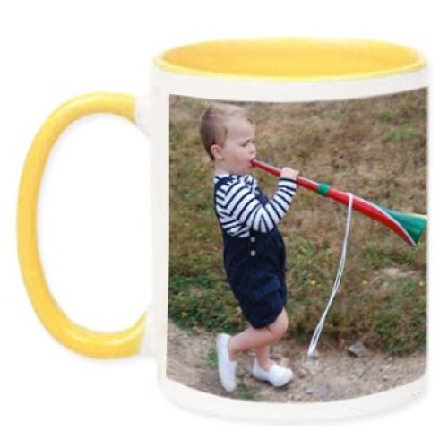 Taza de color con foto