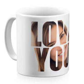 Taza personalizada Love You
