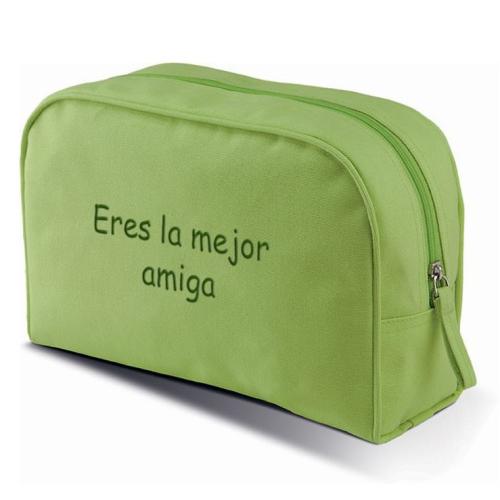 Bolsa de aseo verde