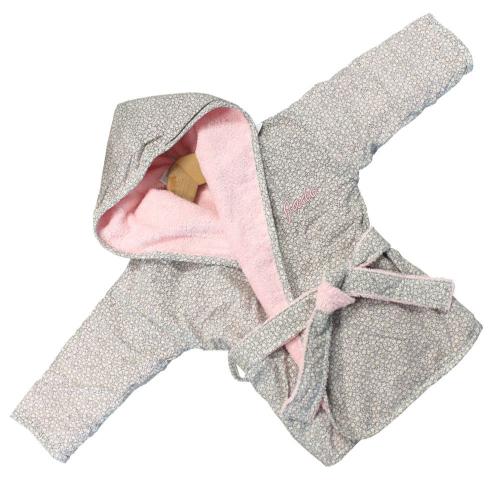 Juego de albornoz personalizado para bebé