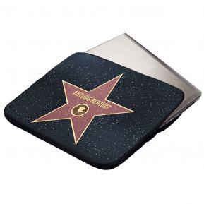 Funda acolchada personalizada Walk of Fame para computador o tableta
