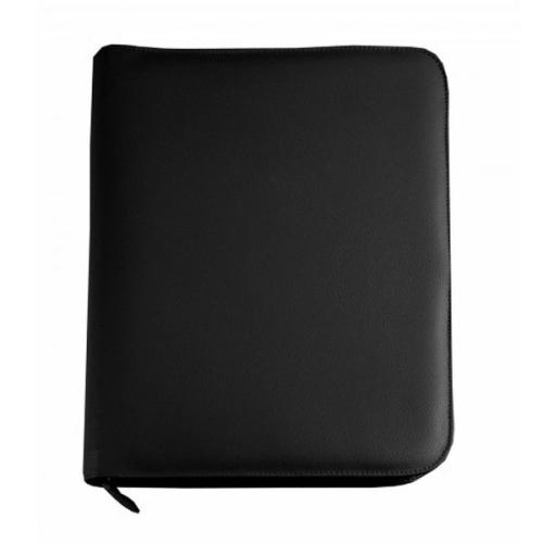 portafolio A4 en cuero