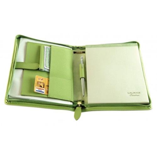 portafolio a5 en cuero personalizado