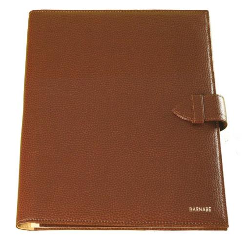 portafolio maletín en cuero personalizado nombre