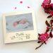 Portarretrato grabado de nacimiento y bautizo