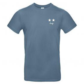 Camiseta para hombre 2 estrellas