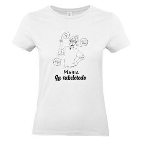 Camiseta personalizada para mujer Personajes