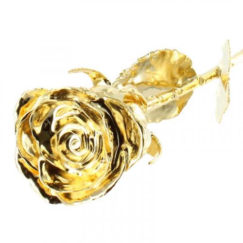 rosa de oro 24 quilates