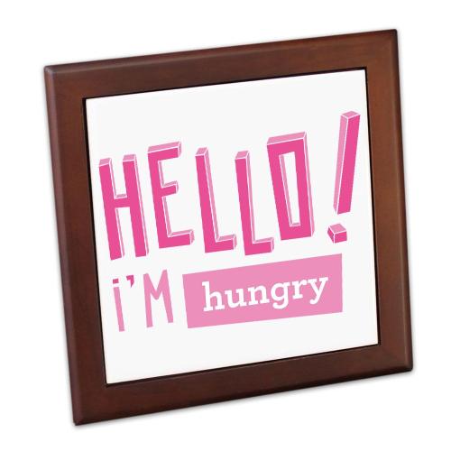 Salvamanteles personalizado Hello I'm hungry