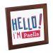 Salvamanteles personalizado Hello I'm Paella