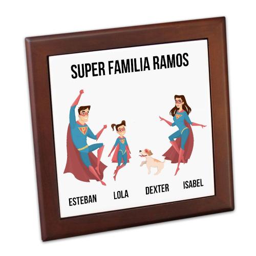 salvamanteles personalizado Super Heroe